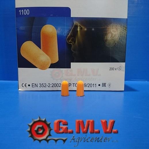 originale a caldo morbido e leggero prezzo moderato Tappi auricolari monouso 1100 (3M)